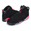 "NIKE AIR JORDAN 6 RETRO GS ""INFRARED"" ""MICHAEL JORDAN"" ""LIMITED EDITION for JORDAN BRAND"" BLK/RED/WHT 384665-060画像"