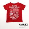AVIREX KIDS T-SHIRT DIVING & SALVAGE 421019104画像