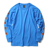 "OBEY BASIC LONG SLEEVE TEE ""OBEY STAR FACE"" (SKY AZURE)画像"