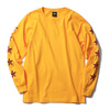 "OBEY BASIC LONG SLEEVE TEE ""OBEY STAR FACE"" (GOLD)画像"