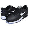 NIKE AIR MAX 90 LTR(GS) black/white-anthracite 833412-025画像