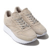 Reebok CL LTHR DOUBLE EF LIGHT SAND/WHITE DV3629画像