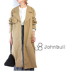JOHNBULL AL938 Big Lapel Trench Coat画像