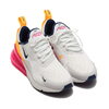 NIKE W AIR MAX 270 SUMMIT WHITE/MIDNIGHT NAVY-LASER FUCHSIA AH6789-106画像