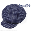 SUGAR CANE FICTION ROMANCE 9oz. INDIGO STRIPE 12PANELS CASQUETT SC02589画像