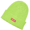 Supreme 19SS Overdyed Beanie LIME画像