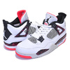 NIKE AIR JORDAN 4 RETRO white/black-bright crimson HOT LAVA 308497-116画像