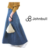 JOHNBULL Lady's #AK726 ReMake Denim Flared Skirt - Used -画像