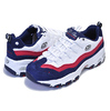 SKECHERS D LITES SURE THING WHITE/NAVY/RED 13141-WNVR画像