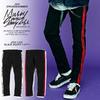 MSML SIDE LINE BLACK SKINNY PANTS M1K1K-PT02画像