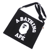 A BATHING APE 19SS COLLEGE SACOCHE 1F25182046画像