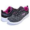 SKECHERS DYNAMIGHT 2.0 IN FLASH BLACK/HOT PINK 12965-BKHP画像