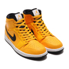 NIKE AIR JORDAN 1 MID UNIV GOLD/BLACK-WHITE-GYM RED 554724-700画像