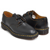 Dr.Martens 1461 GHILLIE SHOE BLACK VINTAGE SMOOTH 22695001画像