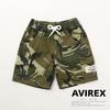 AVIREX KIDS CAMO HALF PANT 421019106画像