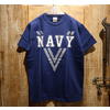 "Buzz Rickson's REFLECTOR T-SHIRT ""NAVY"" BR78238画像"