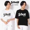 Schott Women's BASIC LOGO T-SHIRT 3293003画像