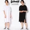 Schott Women's ONE-PIECE BASIC LOGO 3293002画像