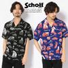 Schott HAWAIIAN SHIRT N.Y.PHOTO 3195021画像