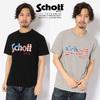 Schott US FLAG LOGO T-SHIRT 3193060画像