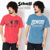 Schott FADED PAINTED T-SHIRT 3193062画像