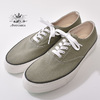 ANATOMICA WAKOUWA DECK SHOES LOW SAGE/WHITE画像