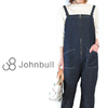 JOHNBULL Tube Salopette - OneWashed Denim - AP370画像
