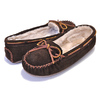 MINNETONKA CALLY SLIPPER CHOCOLATE 4012画像