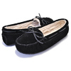 MINNETONKA CALLY SLIPPER BLACK 4010画像
