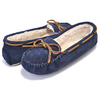 MINNETONKA CALLY SLIPPER DARK NAVY 4014画像