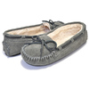 MINNETONKA CALLY SLIPPER GREY 4015画像