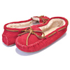 MINNETONKA CALLY SLIPPER RED 4016画像