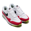NIKE AIR MAX 1 WHITE/BLACK-VOLT-RUSH PINK AH8145-111画像