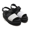 Dr.Martens Voss Strap Sandal Black/White Hydro Leather 24628009画像