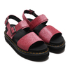 Dr.Martens Voss Strap Sandal Pink Fine Glitter Pu 24818650画像