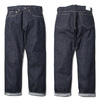 RADIALL KUSTOM 350B - STRAIGHT FIT PANTS (DEEP INDIGO)画像