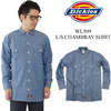 Dickies WL509 L/S CHAMBRAY SHIRT画像