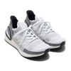 adidas UltraBOOST 19 W FTWR WHITE/CRYSTAL WHITE/GREY TWO F17 B75880画像