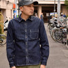 JAPAN BLUE 14oz Denim Heavy Dude Shirts JKT J35131J01画像