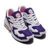 NIKE AIR MAX2 LIGHT WHITE/BLACK-CRT PRPL-HYPR PNK AO1741-103画像
