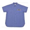 Buzz Rickson's ブルーシャンブレー半袖ワークシャツ SEABEES BR38141画像