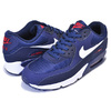 NIKE AIR MAX 90 ESSENTIAL midnight navy/white AJ1285-403画像
