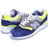 new balance M997LBL NAVY NEON LIME MADE IN U.S.A.画像
