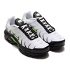 NIKE AIR MAX PLUS SE WHITE/VOLT-BLACK-BRT CRIMSON AJ2013-100画像