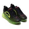 NIKE AIR MAX 720 BLACK/BRT CRIMSON-VOLT AO2924-008画像
