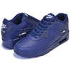 NIKE AIR MAX 90 LTR(GS) midnight navy/white 833412-412画像