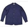 JAPAN BLUE ノーカラーシャツジャケット 8oz ミリタリー デニム J3510J01画像