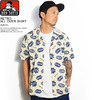 BEN DAVIS RETRO ALL OVER SHIRT -NAVY- G-9580038画像