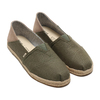 TOMS ALPARGATA CONVERTIBLE ON ROPE Lichen Green Heritage Canvas Convertible 10013460-GRN画像