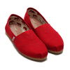 TOMS ALPARGATA Red Canvas 001001B07-RED画像